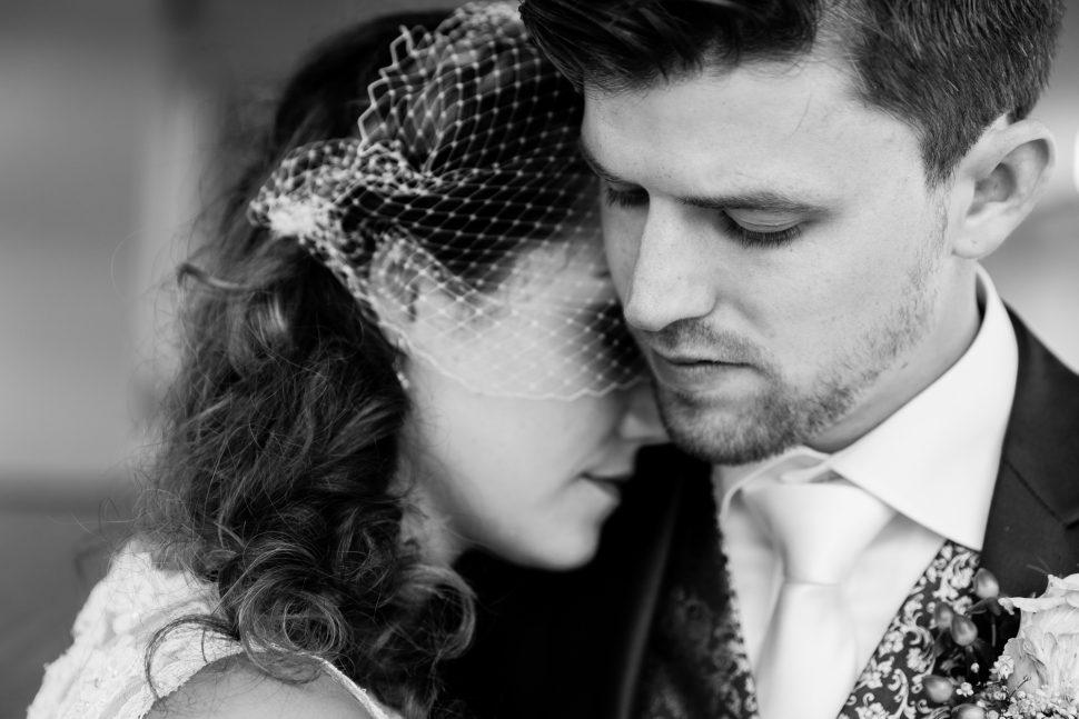 Bruid en bruidegom bij Radio Kootwijk