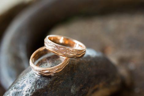 Ringen bruidspaar