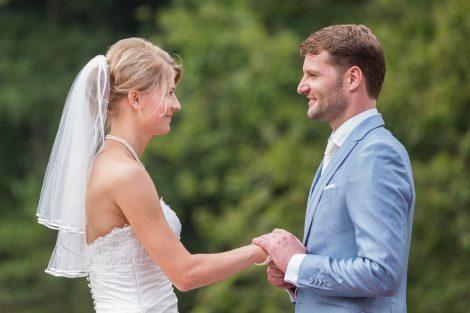 Bruidsfotograaf Peter Lammers legt het ja-woord vast van Saskia en Bas