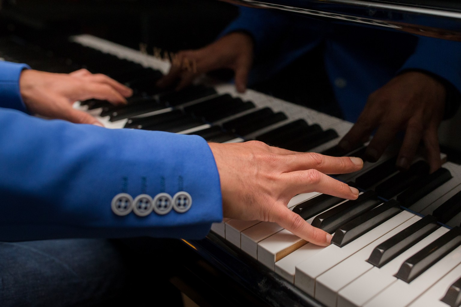 Pianist Freek Zwanenberg