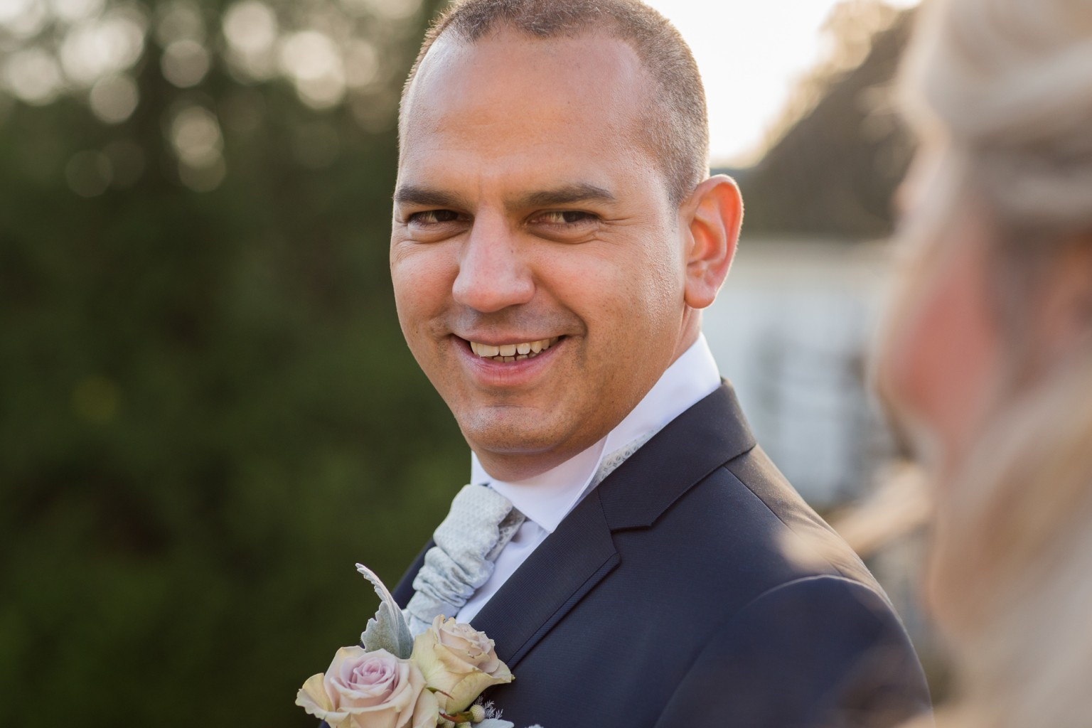 Bruidegom bij Kasteel Engelenburg