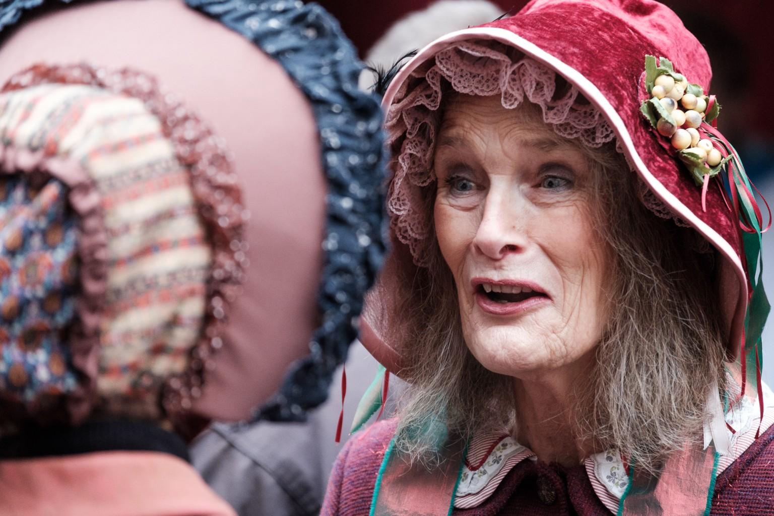 Het Dickens Festijn in Deventer met Emmy Strik