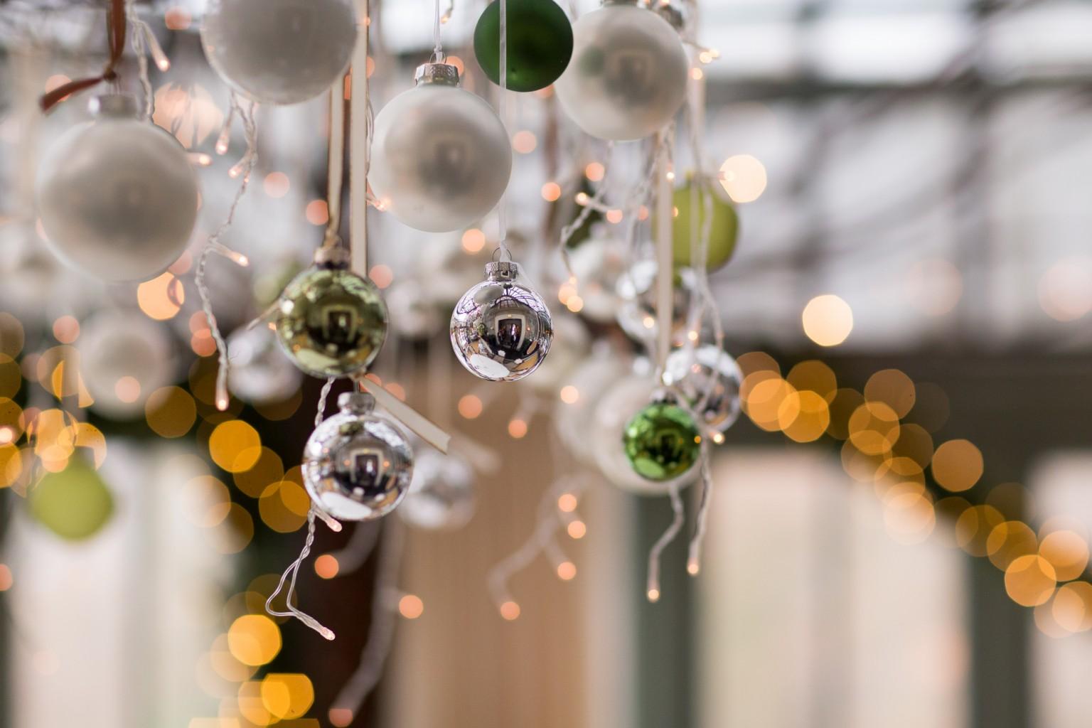 Kerstdecoratie Kasteel Engelenburg