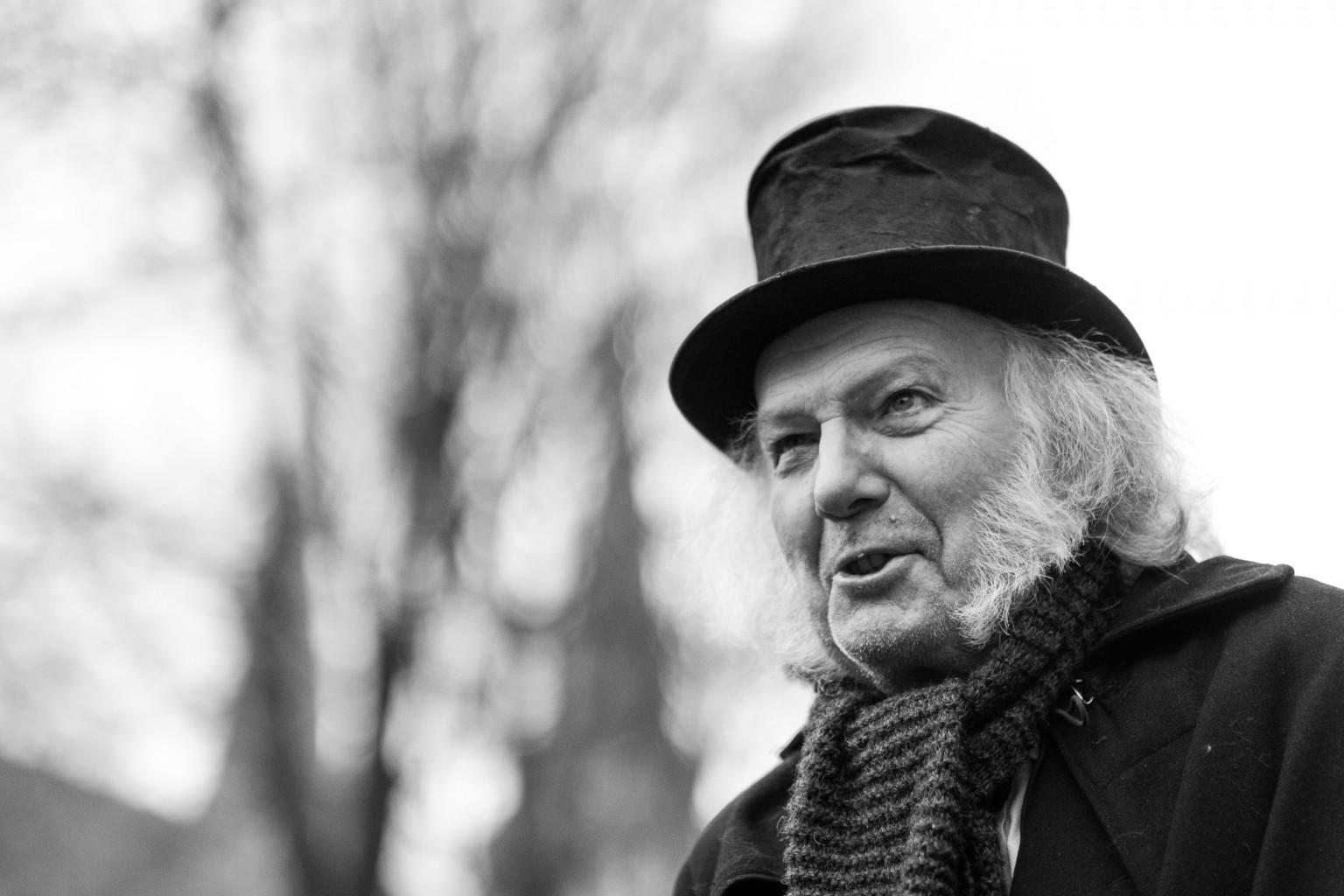 Dickens Festijn 2016 in Deventer - Scrooge