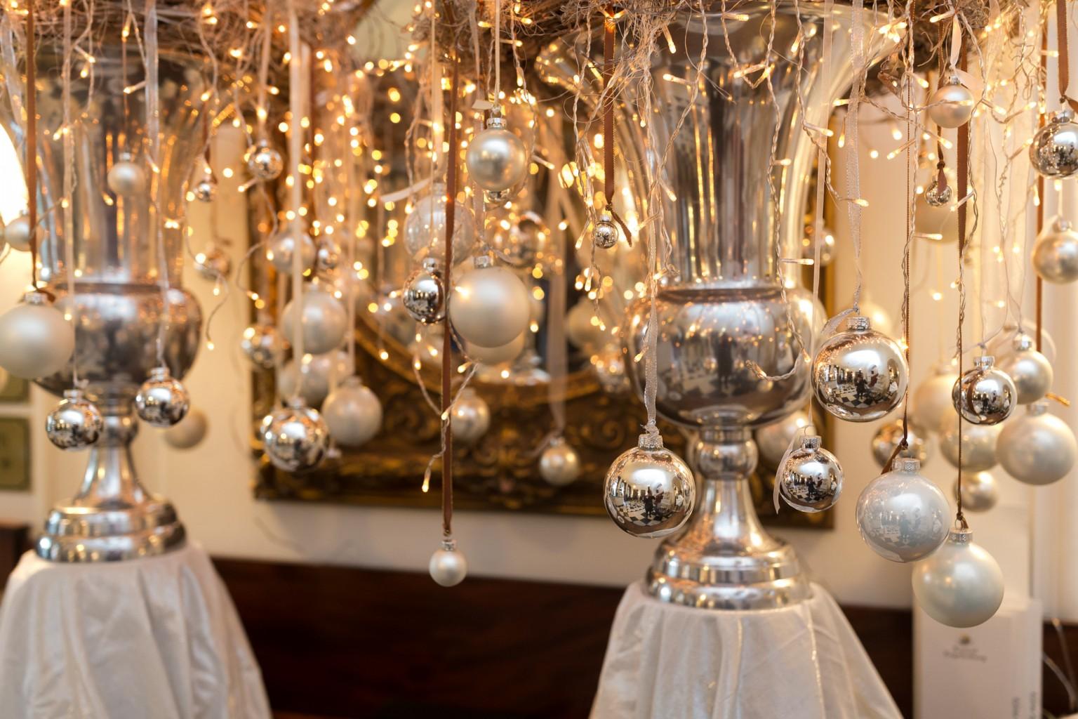 Kasteel Engelenburg in kerstsfeer