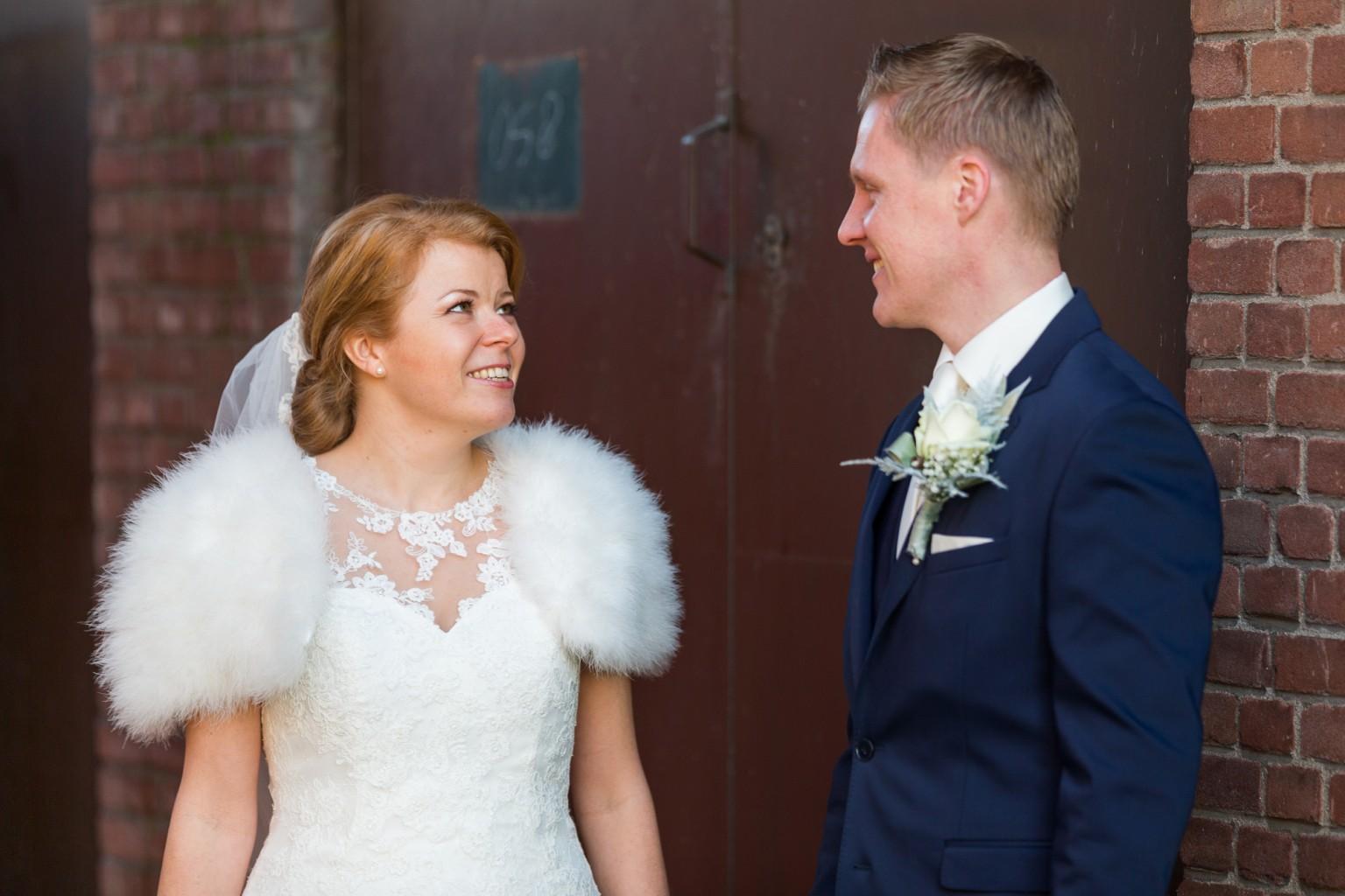 Officiele reportage trouwen bij het Indieterrein in Almelo