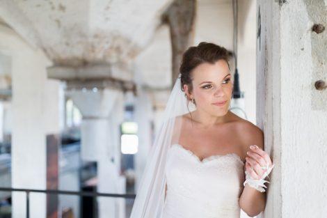 Bruidsreportage bij Fooddock in Deventer door Peter Lammers