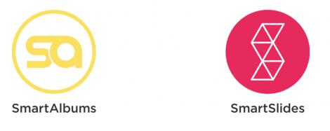 Logo Pixellu SmartAlbums en SmartSlide