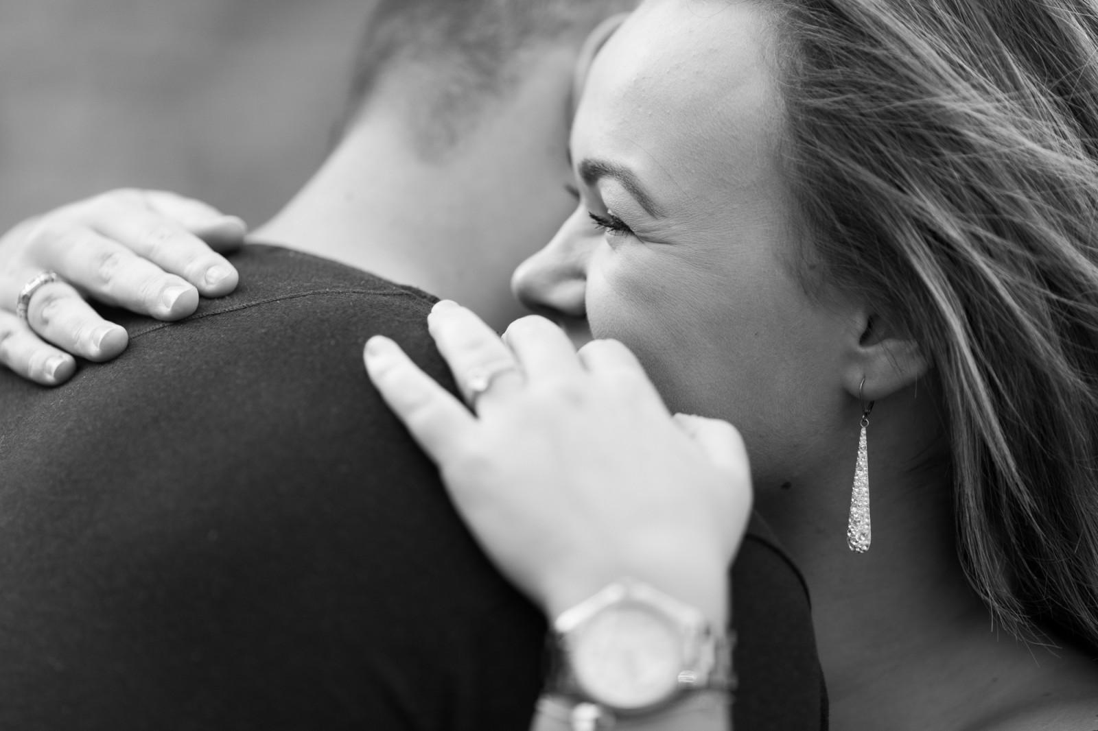 Verlovingsreportage - knuffel