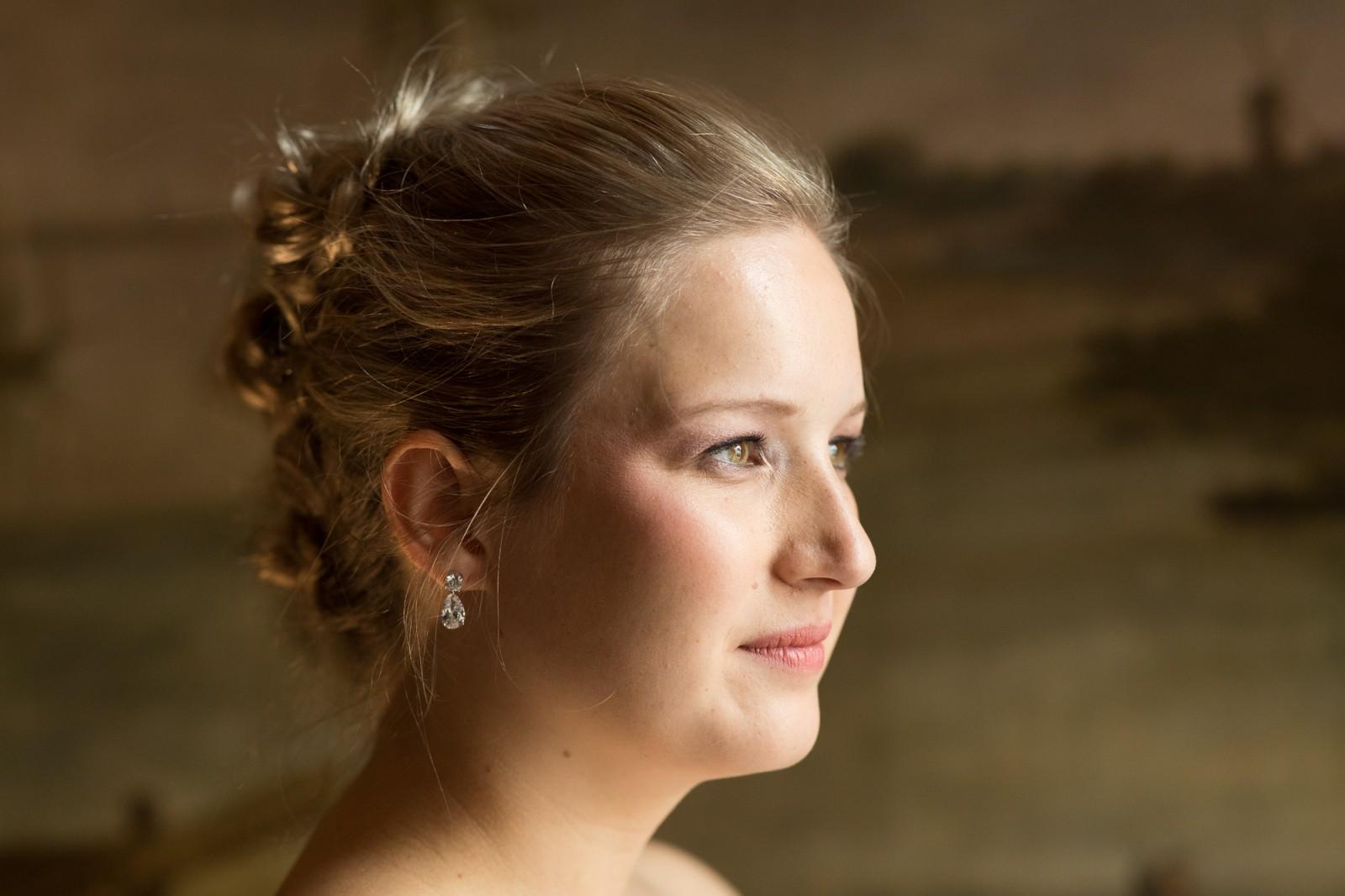 Bruid bij Huis Hotel Vermeer in Deventer