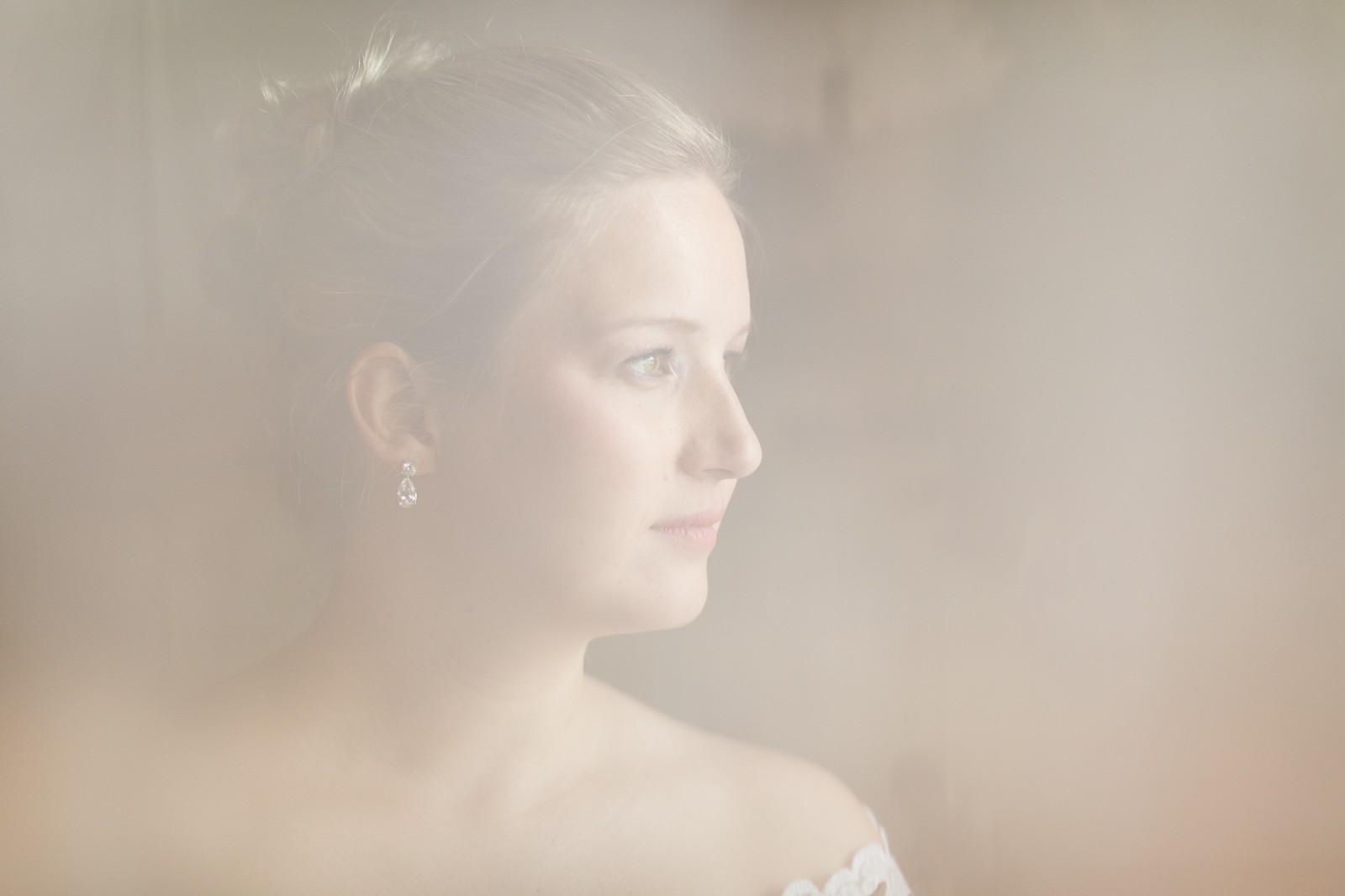 Bruid bij Huis Hotel Vermeer