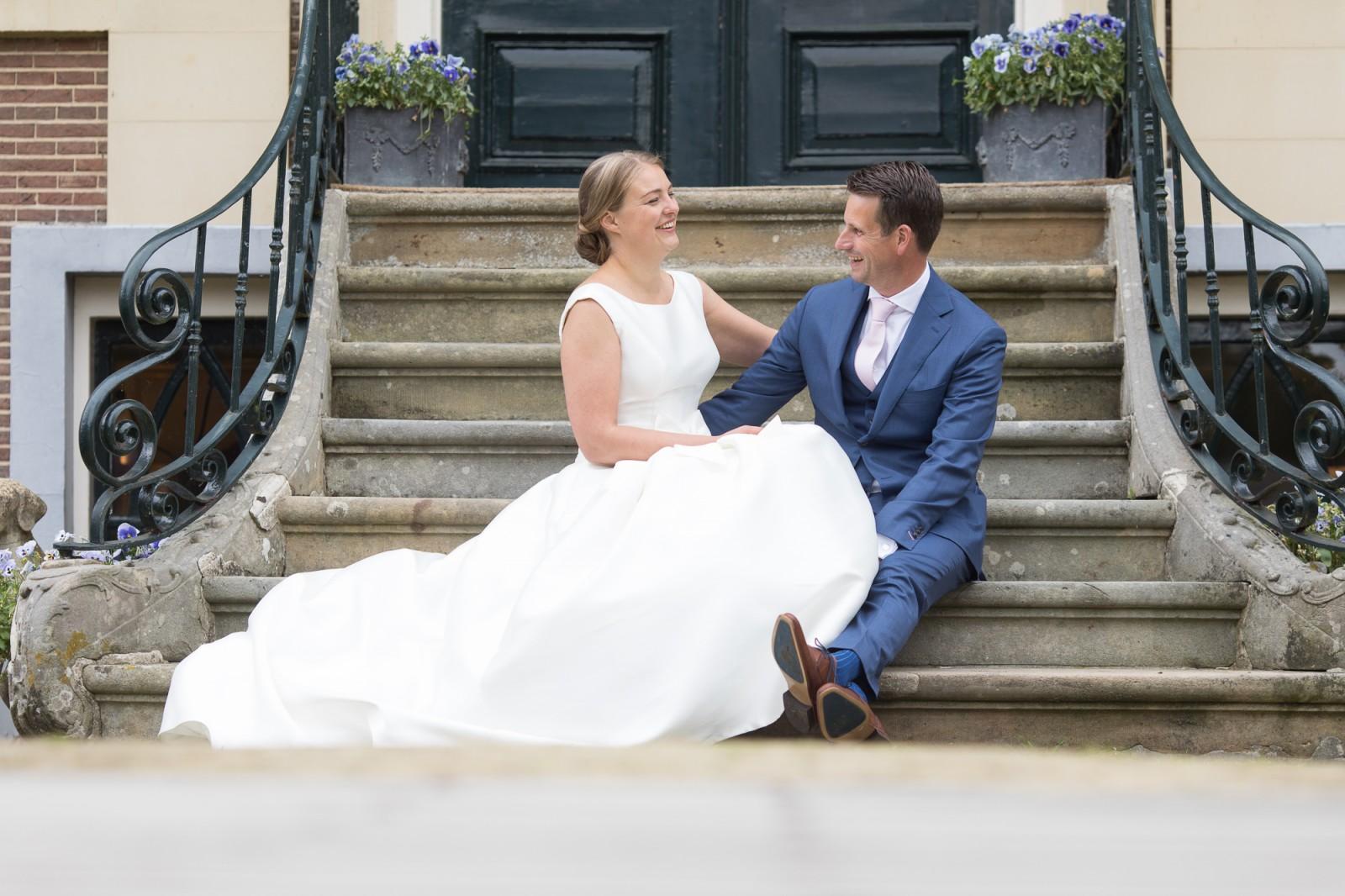 Bruid en bruidegom bij Den Alerdinck