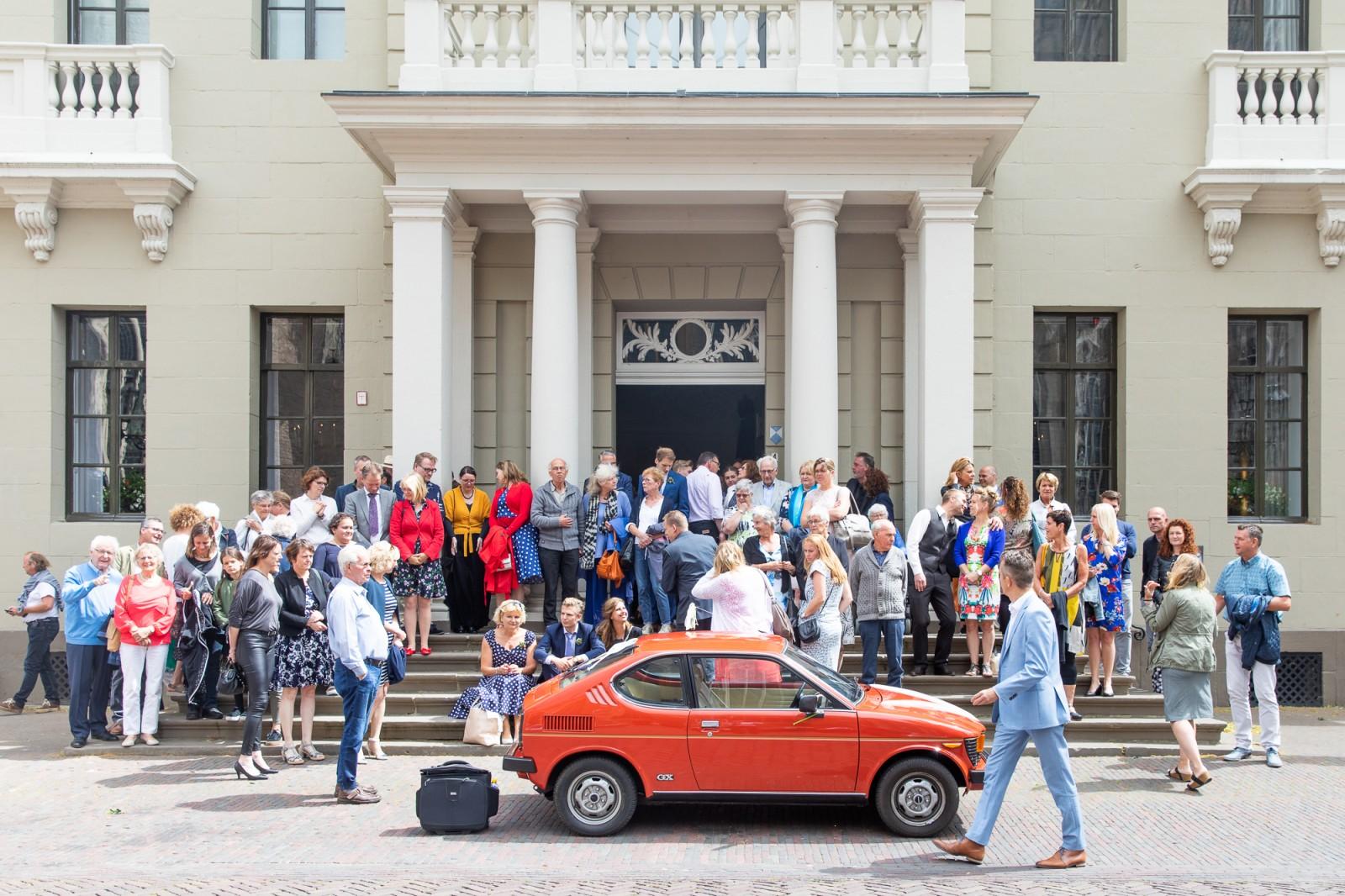 Groepsfoto stadhuis Deventer