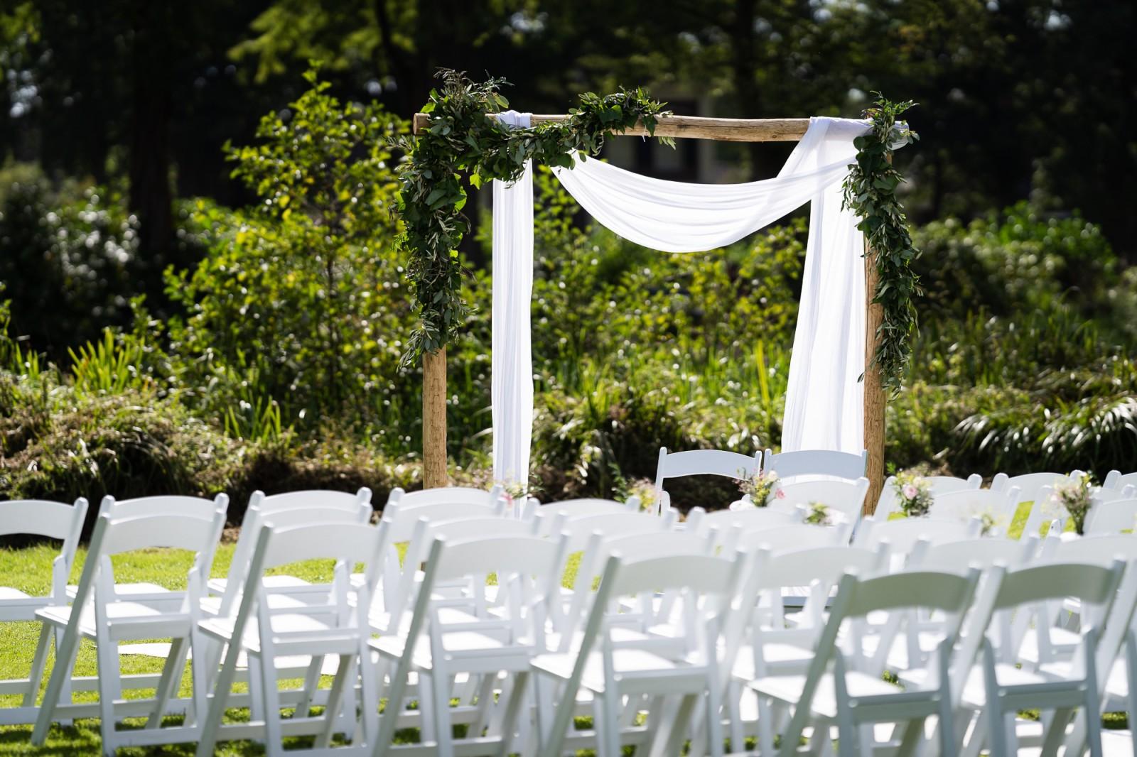 Buiten trouwen bij Huis te Eerbeek
