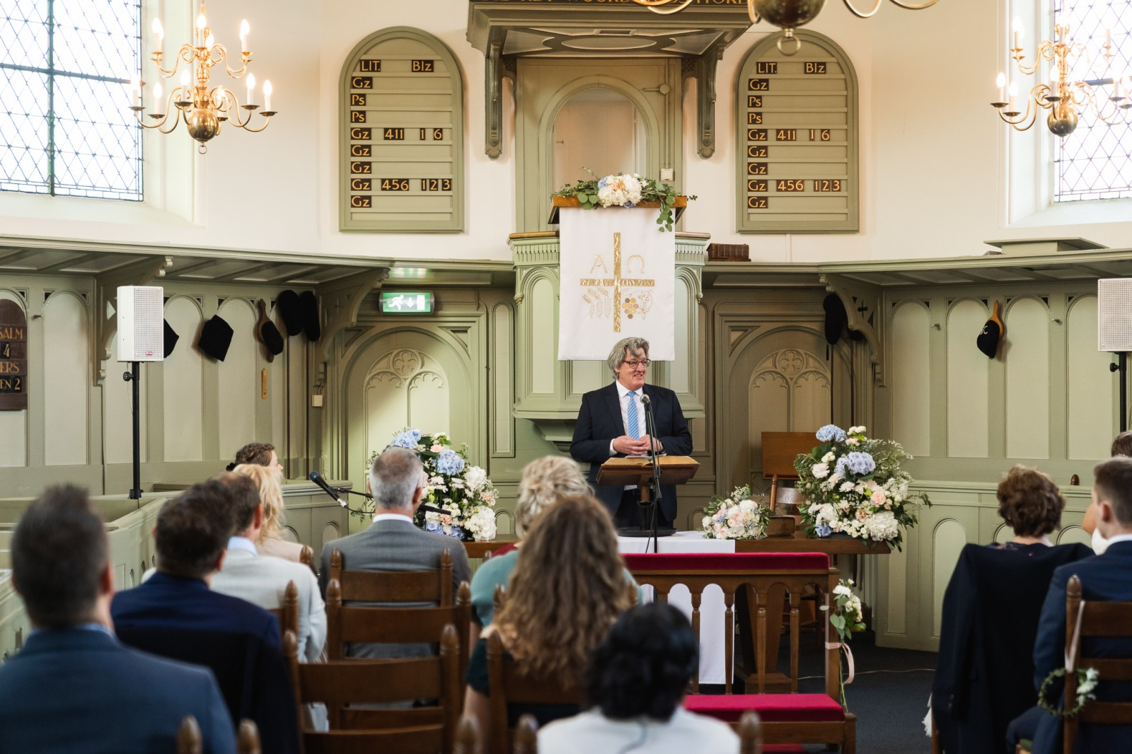 Kerkdienst huwelijk in Oud Zuilen
