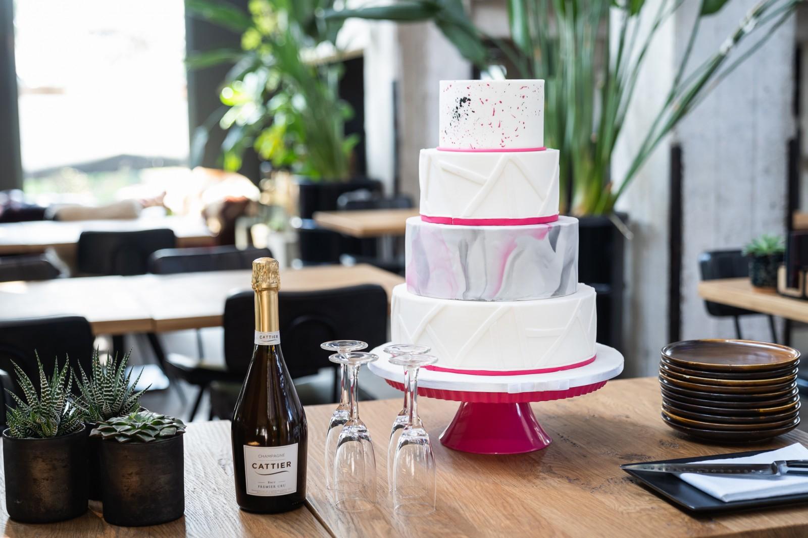 Taart van Cakes by Beaumonde