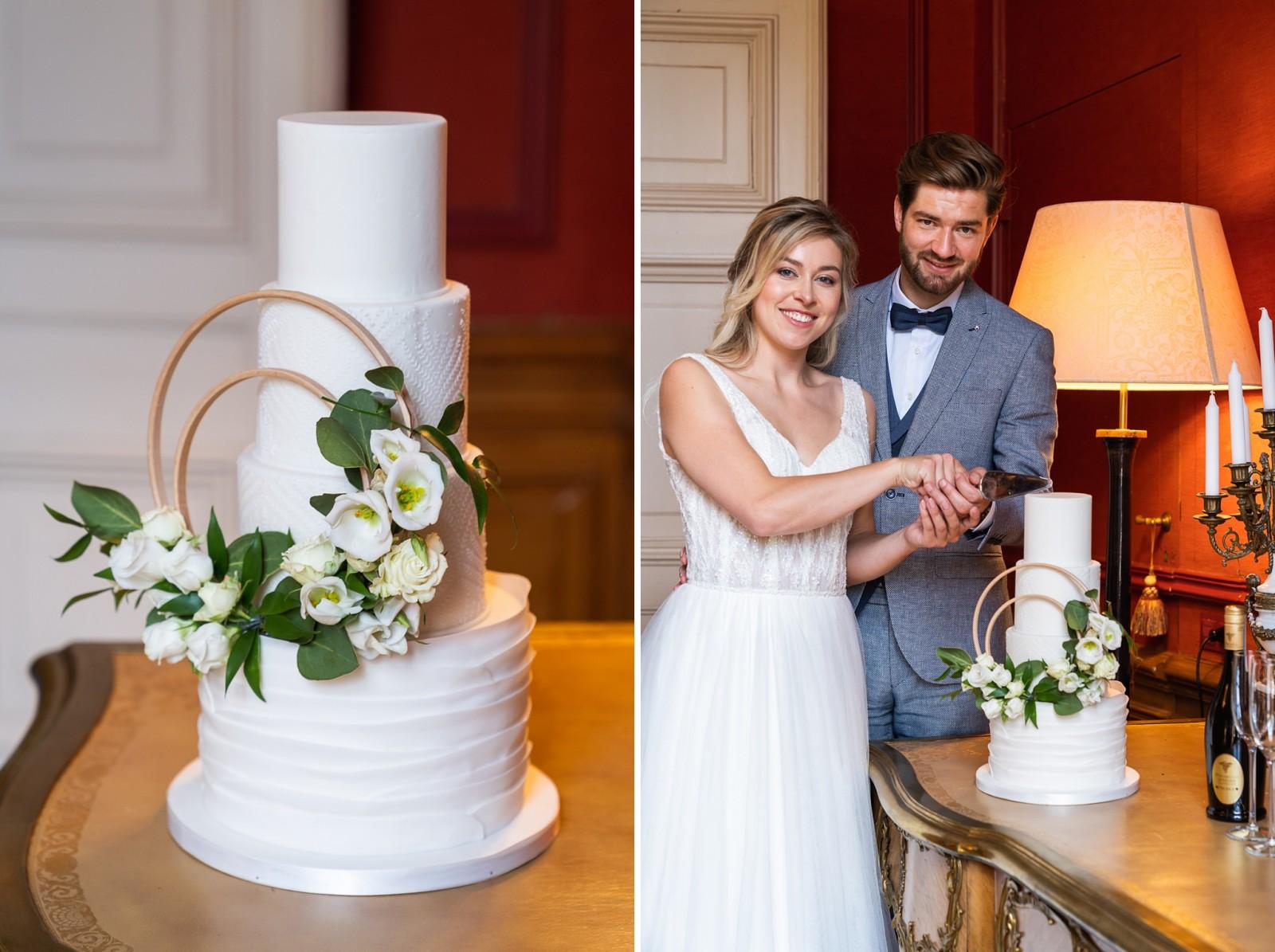 Bruidstaart van Yummie Sweet Cakes