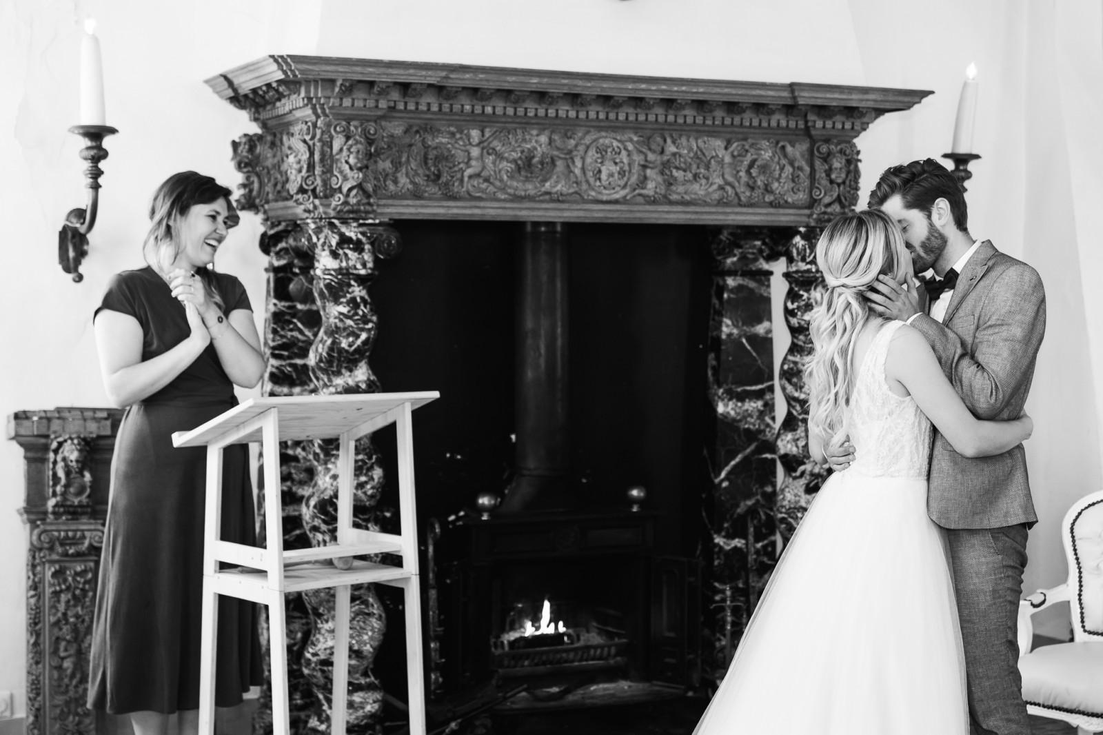 Huwelijksceremonie met Babs Anneloes v.d. Kolk