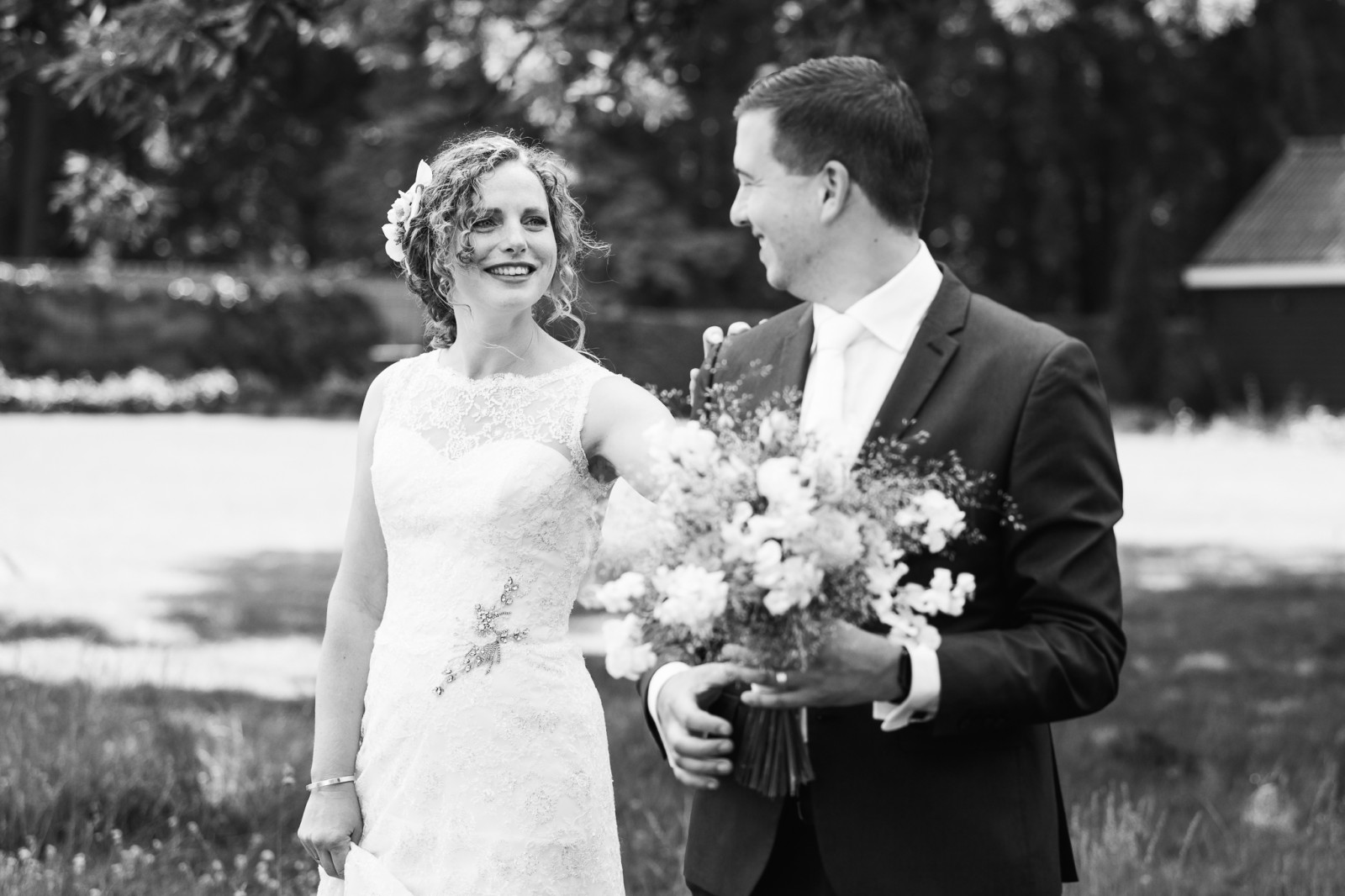 Eerste ontmoeting bruid en bruidegom